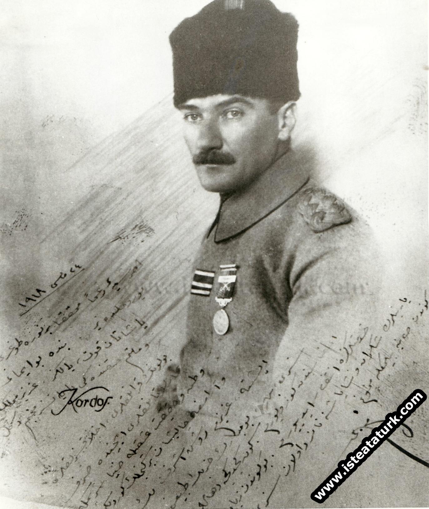 Anafartalar Kahramanı Mustafa Kemal'le Mülakat, İstanbul, Şişli: 28 Mart 1918