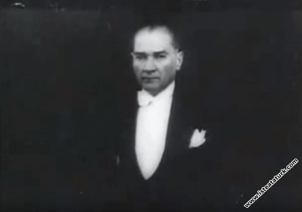 Mustafa Kemal Atatürk'ün Meclis Konuşması (01.11.1932)