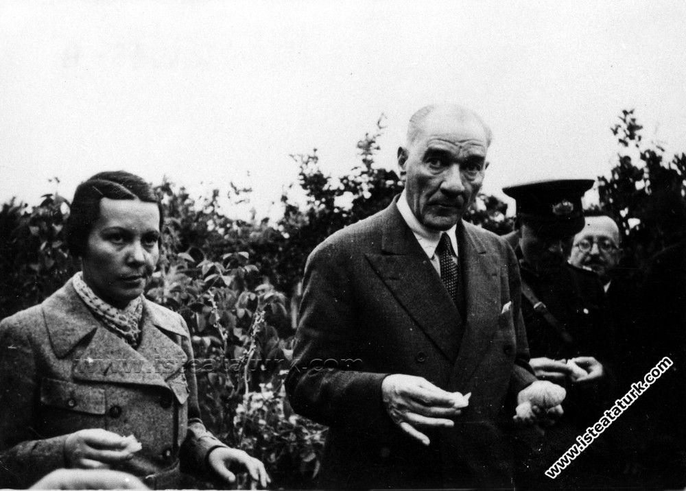 Mustafa Kemal Atatürk'ün Mersin Gezisi (19.11.1937)