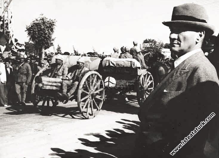 Mustafa Kemal Atatürk'ün Adana Gezisi (24.05.1938)