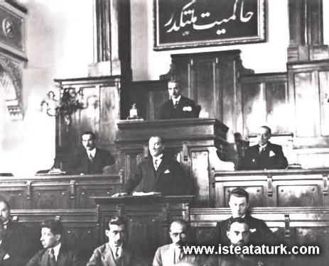 TBMM 2. Dönem 3. Yasama Yılını Açış Konuşması 01.11.1925