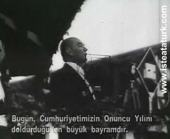 Cumhuriyetin 10. Yıl Dönümü Nutku (29.10.1933)