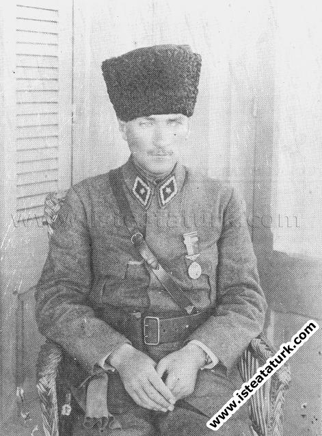 Mustafa Kemal'in İzmir'in Kurtarılması Dolayısıyla Ordumuza Gönderdiği Teşekkür Mesajı, 09.09.1922