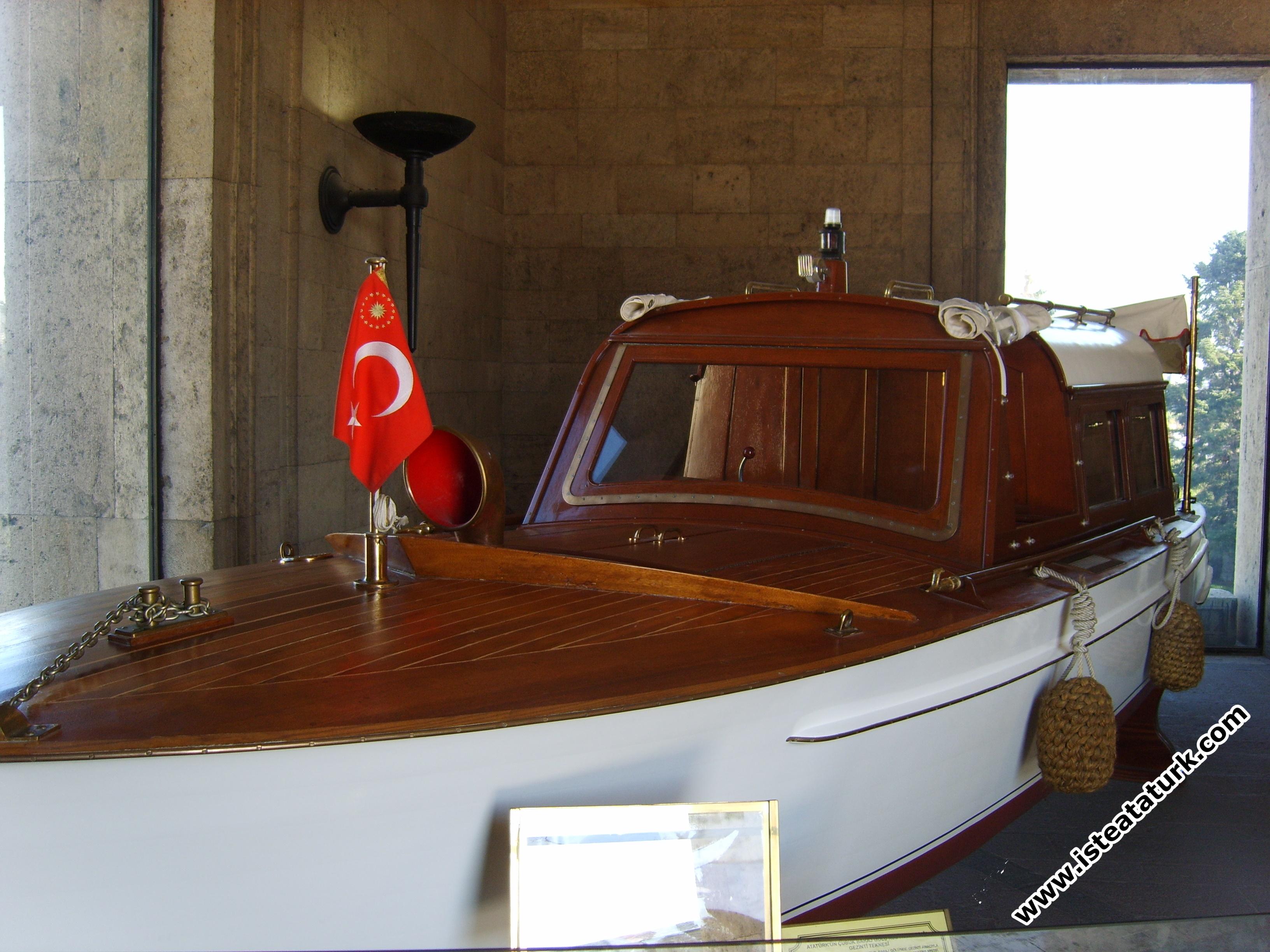 Atatürk'ün Kullandığı Tekne