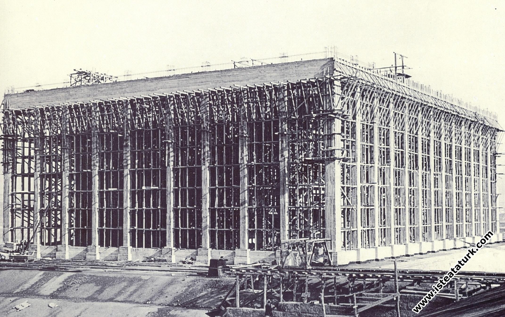 Anıtkabir Yapım Aşamasında