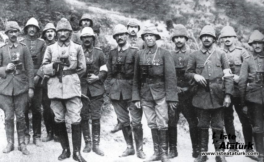 Anafartalar Kahramanı Mustafa Kemal İle Mülâkat