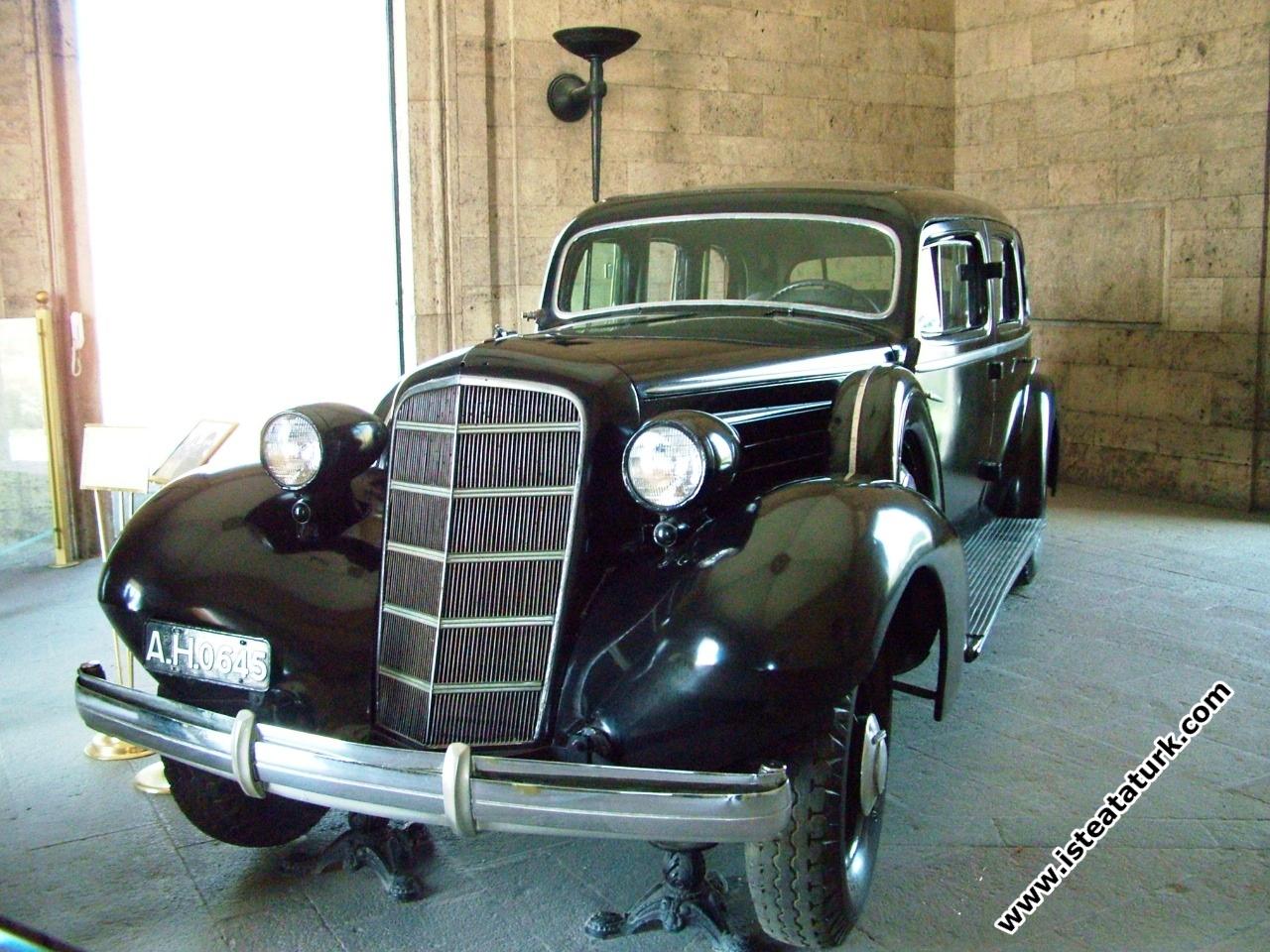 Atatürk'ün Makam Arabası, Cadillac 80 Serisi - 1936