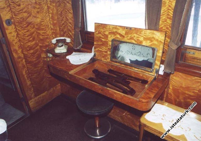 Bayan kompartımanından bir ayrıntı
