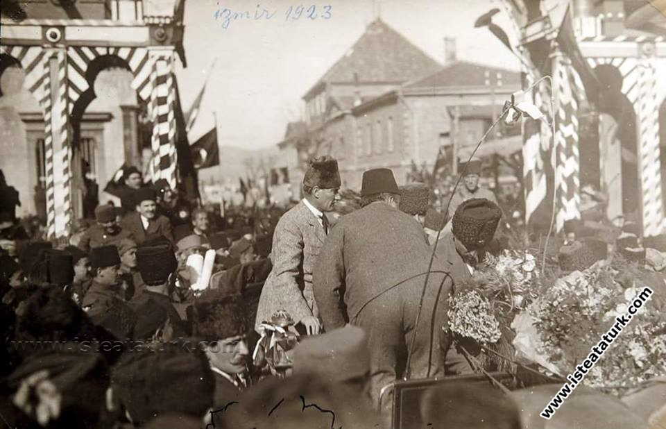 Mustafa Kemal Paşa'nın İzmir'e Gelişi (27.01.1923)