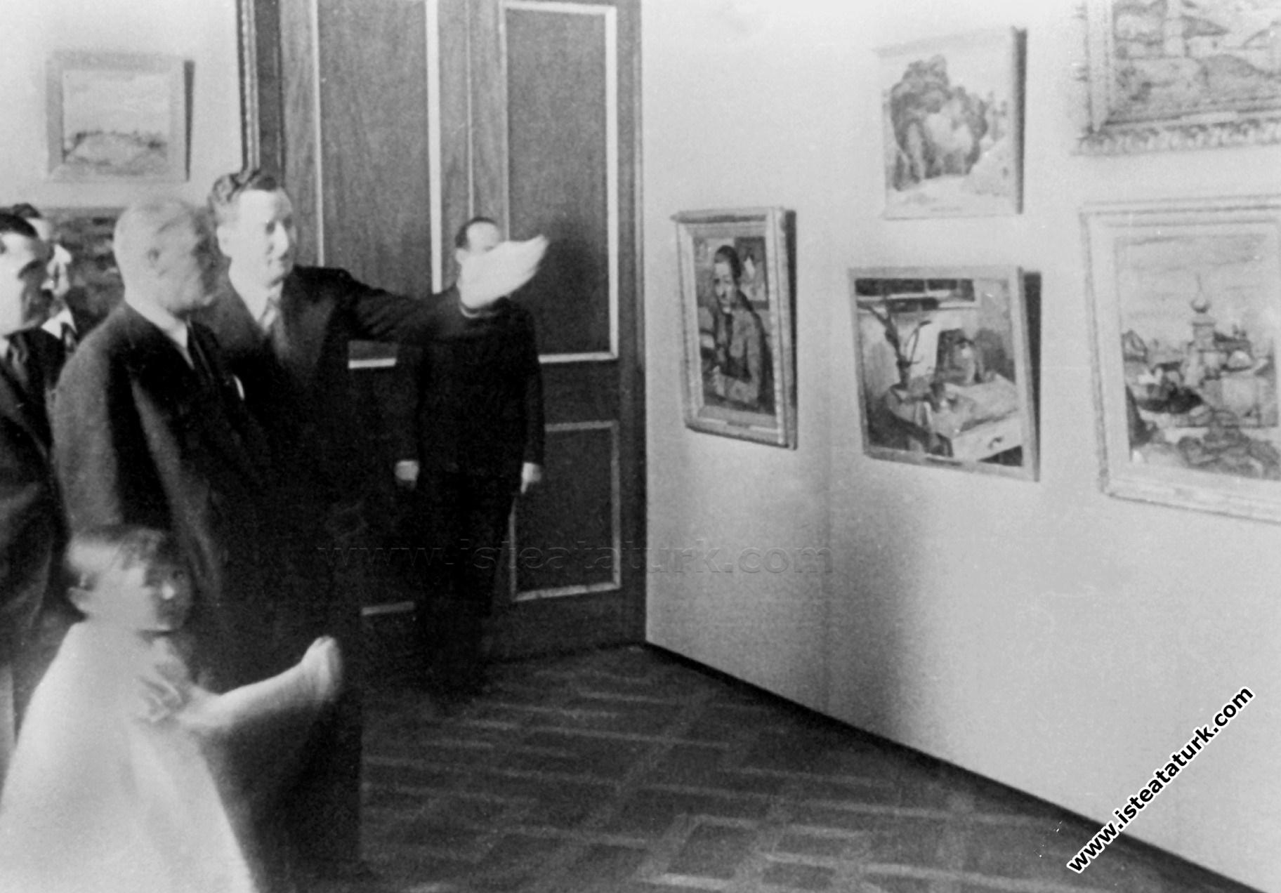 Atatürk, Sanat, Sanatçı ve Resim