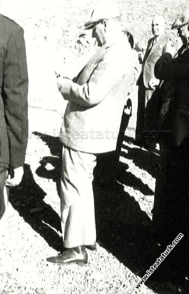 Atatürk Doğu Anadolu Gezisinde, Malatya'dan Diya...