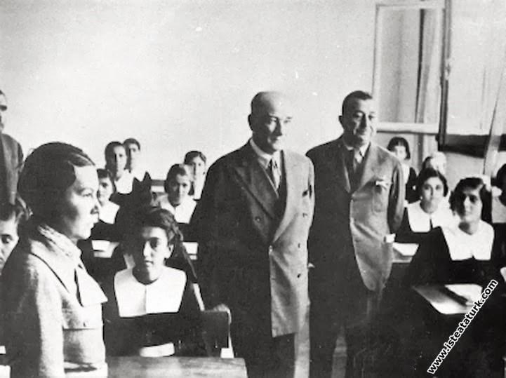 Adana'da İsmet Paşa Kız Enstitüsü'nde tarih d...