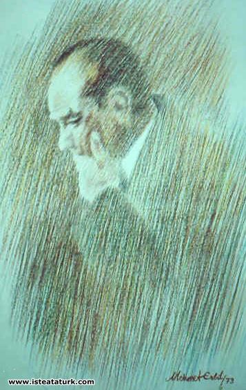 Atatürk Portresi 70x 100 cm