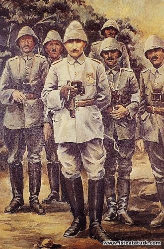 Sami Yetik, Atatürk Anafartalar'da