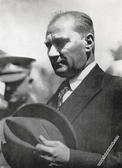 Mustafa Kemal Atatürk Ankara İstasyonu'ndan çı...