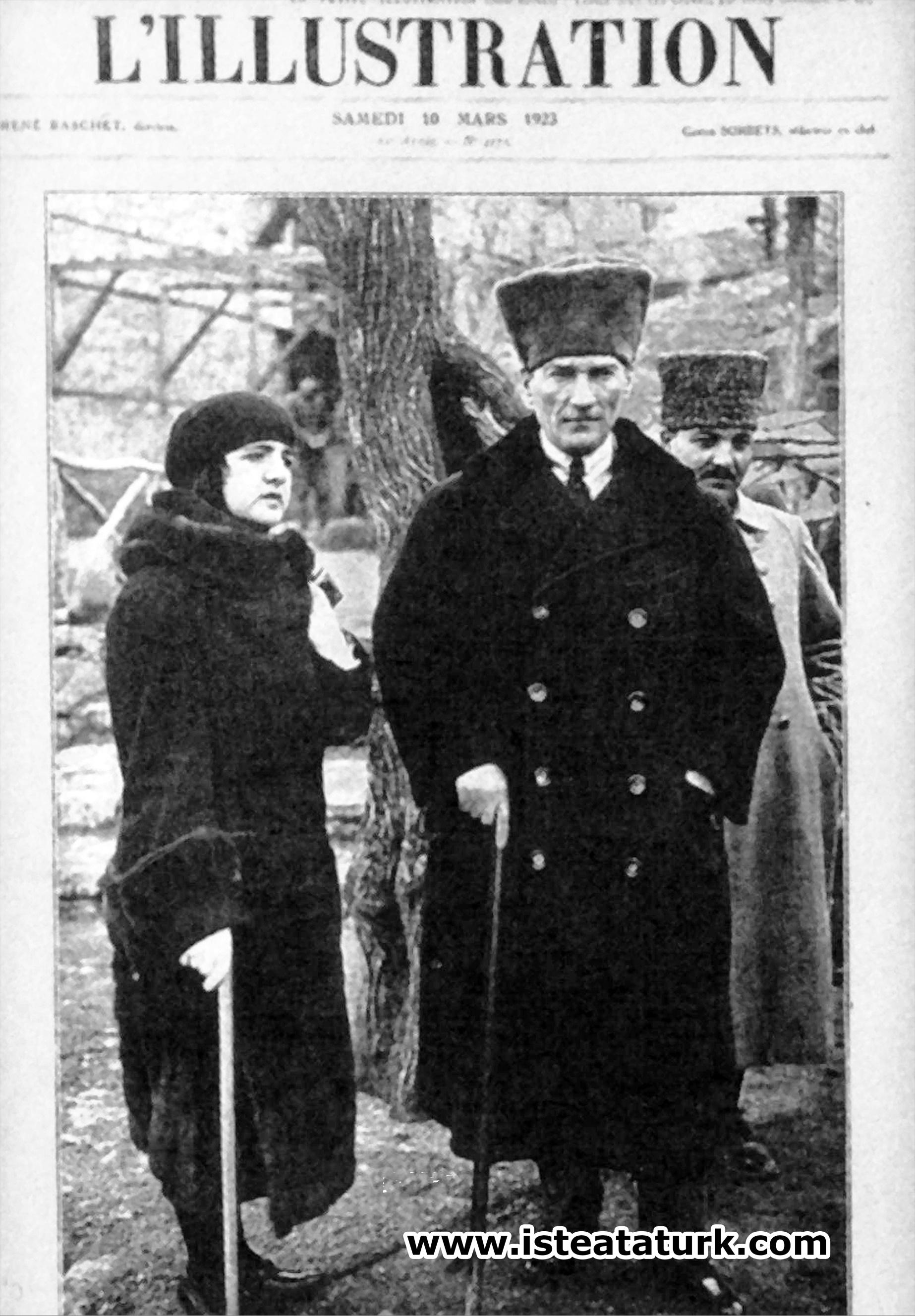 L'illustration News'un 10 Mart 1923 tarihli sayısı. (10 Mart 1923)