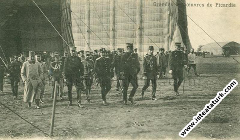 Picardie Manevraları'nda. (17-28.09.1910)