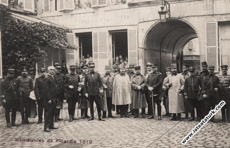 Fransa'da Picardie Manevralarında Osmanlı Ordusunu...