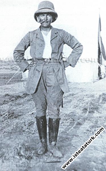 Derne Komutanı Kurmay Binbaşı Mustafa Kemal, Trablusgarp (1912)