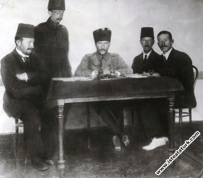 Ordu Müfettişi olarak Erzurum'da. (05.07.1919)...