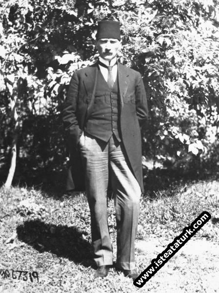 Mustafa Kemal Sivas Kongresi günlerinde. (06.09.19...