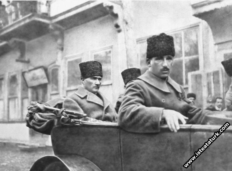 Mustafa Kemal, Birinci İnönü Savaşın'dan sonr...