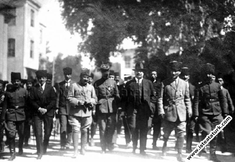Ankara Antlaşması görüşmelerine gelen Frankli...