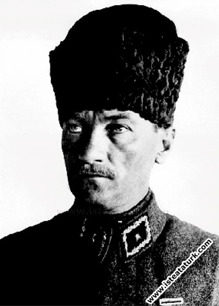 Başkomutan Mustafa Kemal, Ankara. (22.09.1921)...