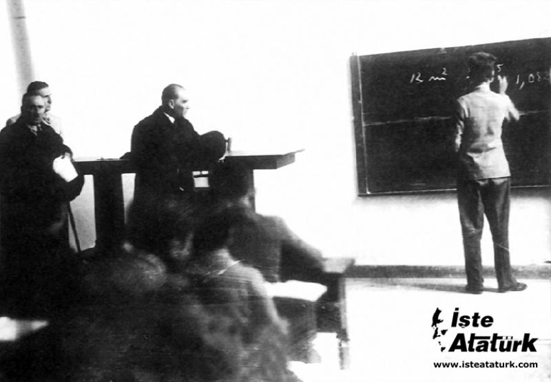 Atatürk ve Geometri Kitabı