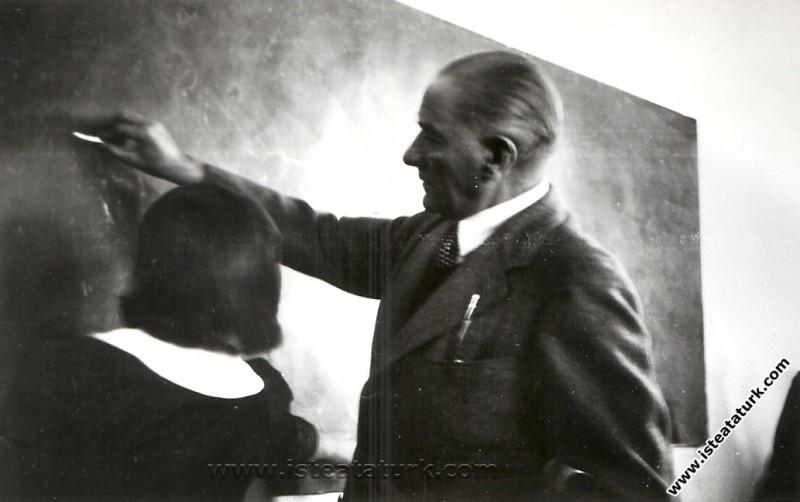 Atatürk Geometri Kitabı Yazdı