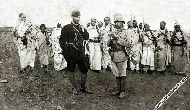 Mustafa Kemal Trablusgarp'ta