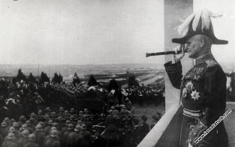 Mustafa Kemal Paşa, Sir William Birdwood Görüşmesi, 20.11.1918