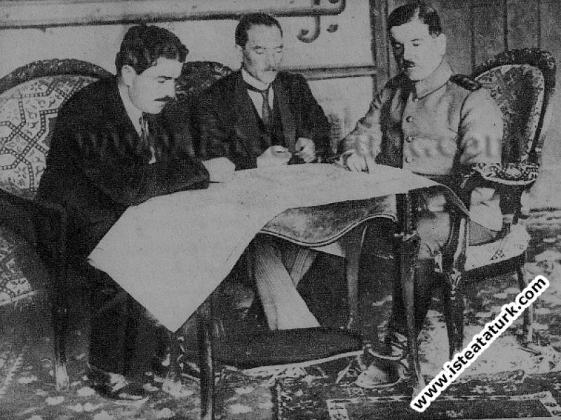 İstanbul'da Ali Fuad Bey'le Toplantı