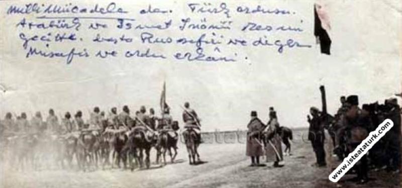 Başkomutan Gazi Mustafa Kemal Paşa, Ilgın Manevral...