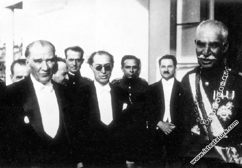 Mustafa Kemal Atatürk, İran Şahı Rıza Pehlevi ile Birlikte (16.06.1934)