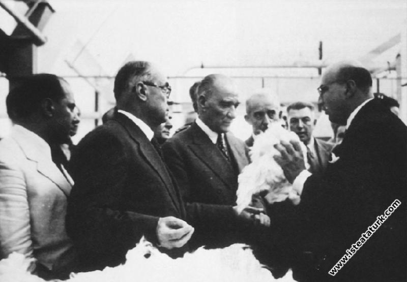 Mustafa Kemal Atatürk'ün Aydın-Nazilli Gezileri (09.10.1937)