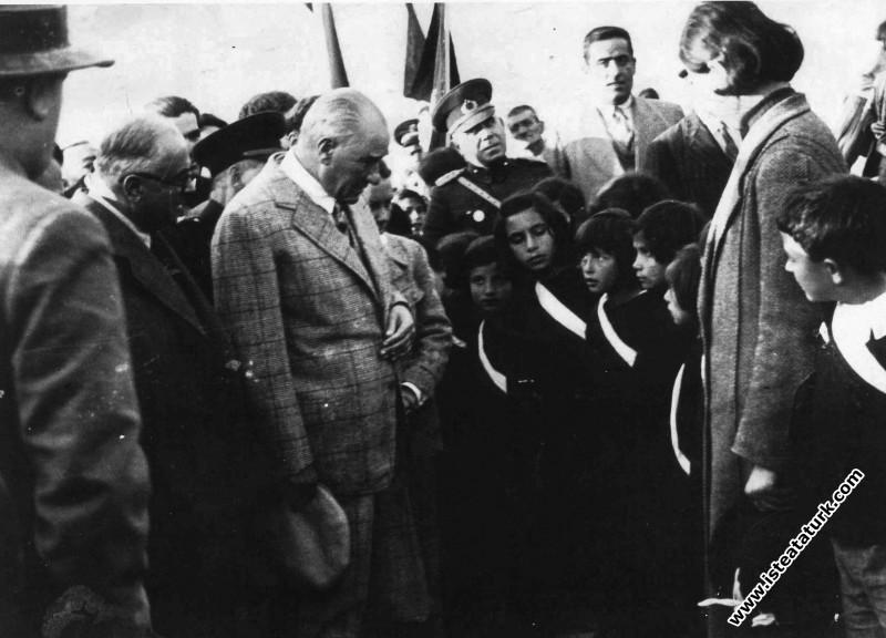 Mustafa Kemal Atatürk'ün Elazığ Gezisi (17.11.1937)
