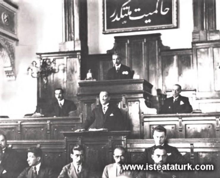 TBMM 2. Dönem 4. Yasama Yılını Açış Konuşması 01.11.1926