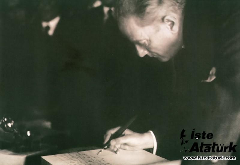 Kurtdereli Mehmet Pehlivan'a Yazdığı Mektup. 12.11.1931