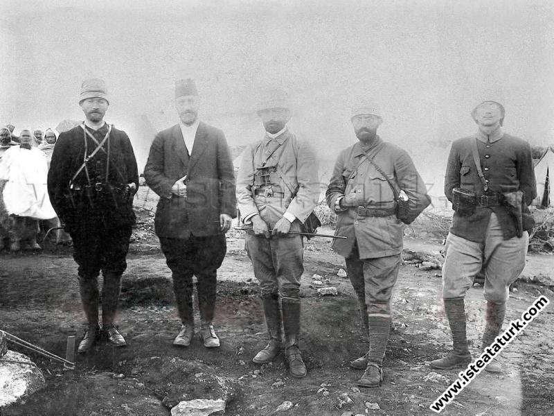 Salih Bozok'a Yazdığı Mektup, 1911