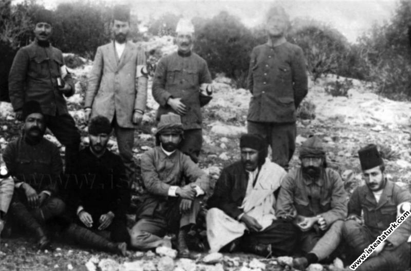 Salih Bozok'a Yazdığı Mektup, 28.11.1911