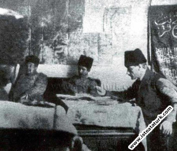 Zübeyde Hanım'a Yazdığı Mektup, 01.08.1920