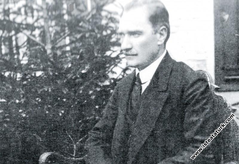 Mustafa Kemal'in Ahmet Şükrü'ye Verdiği Mülâkat, 1923