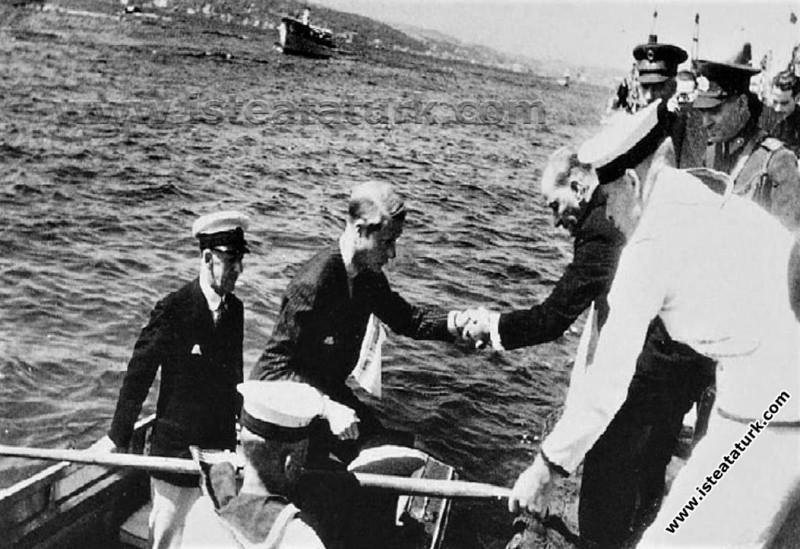İngiltere Kralı VIII. Edward'ın Türkiye Ziyareti İstanbul (04.09.1936)