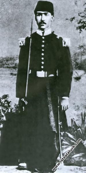 Ali Rıza Efendi, Askerlik Hatırası Bir Fotoğraf