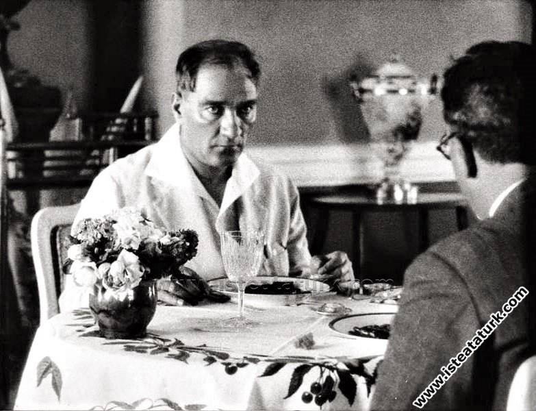 Atatürk'ün Beslenme Alışkanlığı