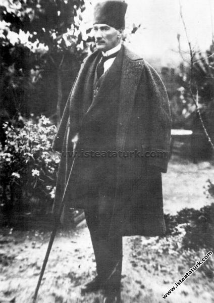 Gazi Mustafa Kemal Paşa, Tarsus'ta Çağlayan Bahçes...