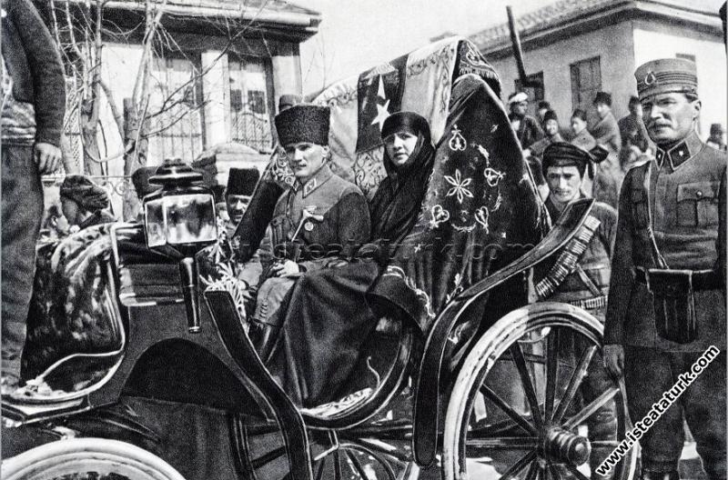 Gazi Mustafa Kemal Paşa'nın, Afyon'lu genç kızları...