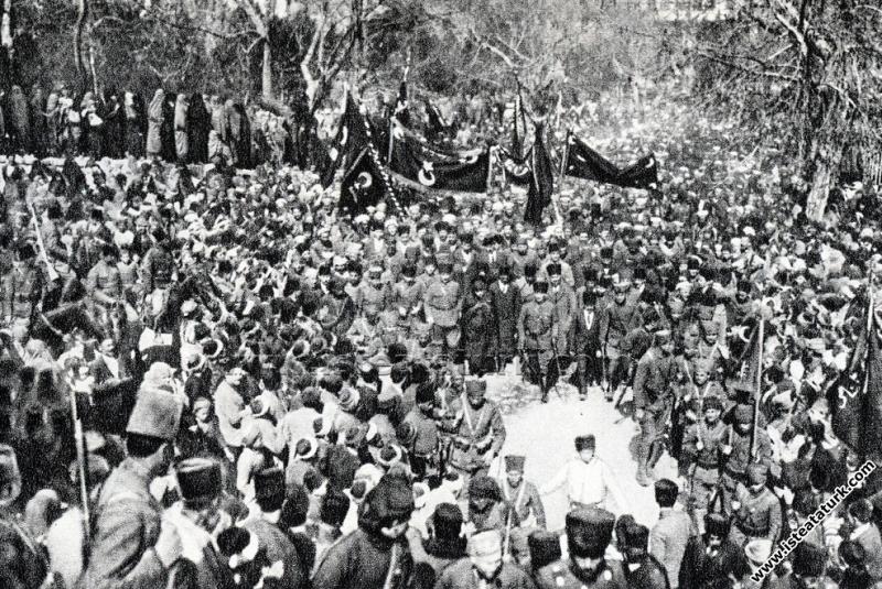 Gazi Mustafa Kemal Paşa'nın,  Kütahya'da Latife Ha...