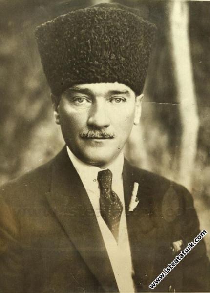 Cumhurbaşkanı Gazi Mustafa Kemal'in 27 Kasım 1923 ...